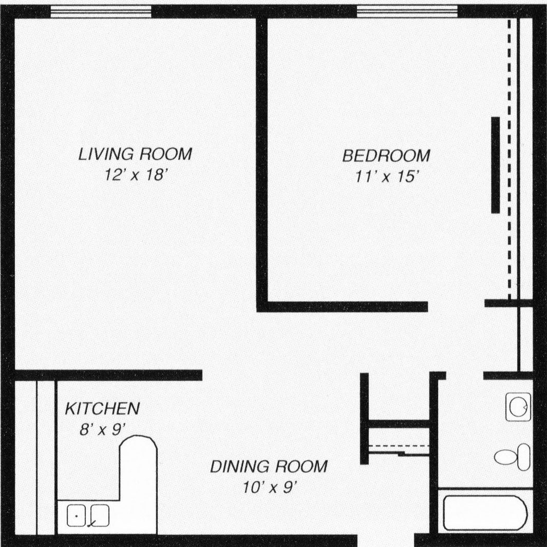 Glenwest 1 Bed 1 Bath